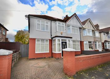 Thumbnail 7 bed semi-detached house for sale in Rosemoor Drive, Liverpool