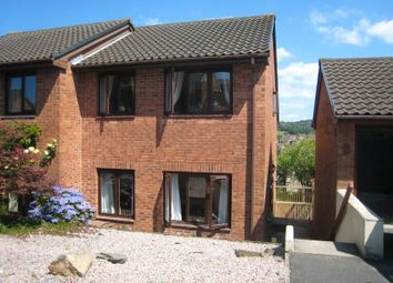 Thumbnail 3 bed semi-detached house to rent in Greenwood Park Close, Plympton, Plymouth, Devon