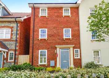 Thumbnail 4 bed town house for sale in Glastonbury Road, Wells
