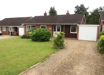 Thumbnail 3 bed detached bungalow for sale in St Georges Close, Thurton, Norwich