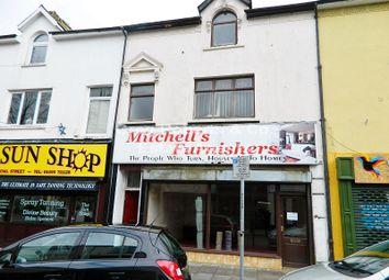 Thumbnail Retail premises for sale in Commercial Street, Tredegar, Blaenau Gwent.