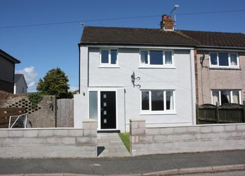 Thumbnail 3 bed end terrace house for sale in Trem Eryri, Llanfairpwllgwyngyll
