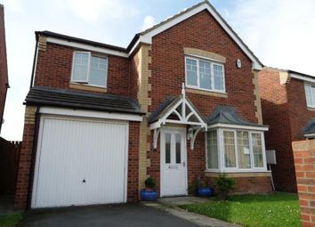 Thumbnail 4 bed detached house for sale in Otus Grove, Blyth