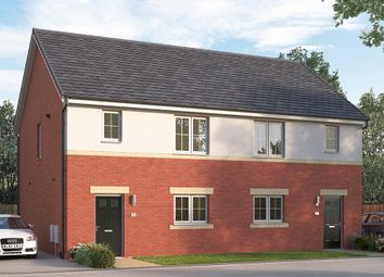 "Thumbnail 3 bed semi-detached house for sale in ""The Newbridge"" at Browney Lane, Browney, Durham"