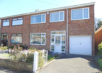 Thumbnail 4 bed semi-detached house for sale in Downside Drive, Liverpool