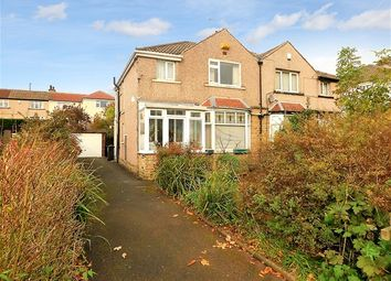 Thumbnail 3 bed semi-detached house for sale in Crowther Avenue, Calverley, Leeds