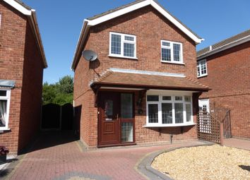 Thumbnail 3 bed detached house to rent in Aitken Close, Tamworth