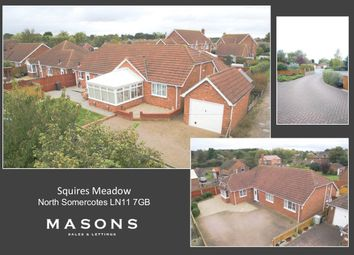 Thumbnail 3 bed detached bungalow for sale in Squires Meadow, North Somercotes, Louth