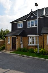 Thumbnail 3 bed end terrace house to rent in Kennard Way, Ashford