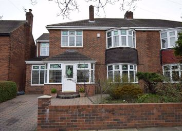 Thumbnail 4 bed semi-detached house for sale in King George Road, South Shields