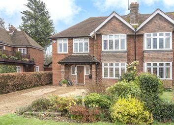 Thumbnail 5 bed semi-detached house to rent in Barnfield Road, Sevenoaks, Kent