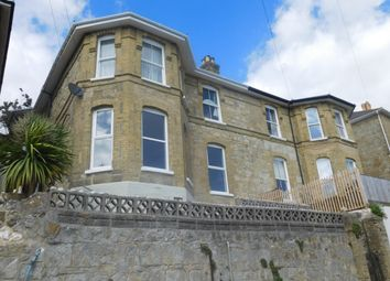 Thumbnail 3 bed flat to rent in Madeira Road, Ventnor