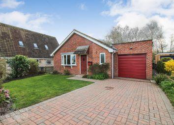 Thumbnail 3 bed detached bungalow for sale in St. Marys Road, Poringland, Norwich