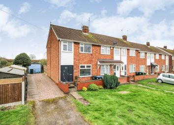 Thumbnail 3 bed end terrace house for sale in Woodway Lane, Coventry