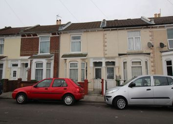 Thumbnail 3 bed terraced house to rent in Portchester Road, Portsmouth