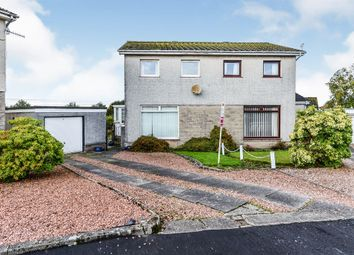 Thumbnail 3 bed semi-detached house for sale in Mitchell Drive, Cardross, Dumbarton