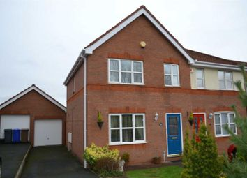 Thumbnail 3 bedroom semi-detached house to rent in Hyacinth Road, Basford, Stoke-On-Trent