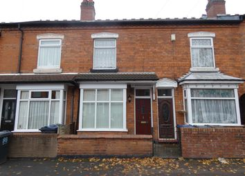 Thumbnail 3 bed terraced house to rent in Preston Road, Yardley, Birmingham