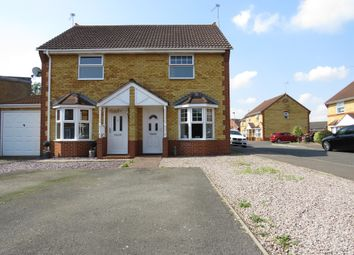 Thumbnail 2 bedroom semi-detached house for sale in Fairchild Way, Dogsthorpe, Peterborough