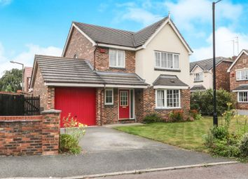 Thumbnail 4 bed detached house for sale in Osbourne Close, Bromborough, Wirral