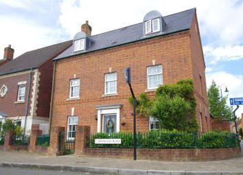 Thumbnail 5 bed detached house for sale in Cornwood Road, Wichelstowe, Swindon, Wiltshire