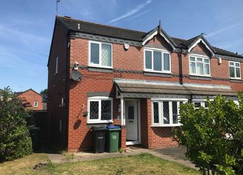 Thumbnail 3 bedroom semi-detached house to rent in Ratcliff Way, Tipton