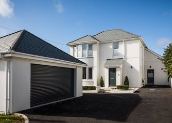 Thumbnail 4 bed detached house for sale in Trethellan Hill, Newquay