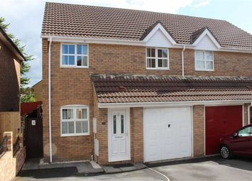 Thumbnail 3 bed semi-detached house for sale in Elm Crescent, Penllergaer, Swansea