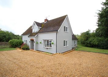 Thumbnail 4 bed detached house for sale in Mill Road, Newbourne, Woodbridge