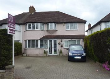 Thumbnail 4 bed semi-detached house for sale in Sutton Common Road, North Cheam, Sutton