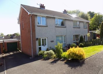 Thumbnail 3 bed semi-detached house to rent in Cloverdale Road, Lisburn