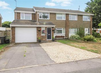 Thumbnail 5 bed semi-detached house for sale in Conrad Close, Swindon, Wiltshire