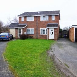 Thumbnail 2 bed semi-detached house for sale in Glamis Close, Burton On Trent, Staffs