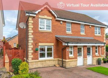 Thumbnail 3 bed semi-detached house for sale in Leyland Wynd, Hamilton
