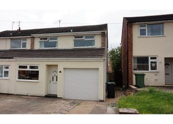 Thumbnail 3 bed end terrace house for sale in Kilbury Drive, Worcester