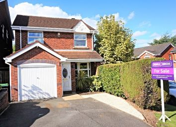 Thumbnail 3 bedroom detached house for sale in Stable Croft, West Bromwich