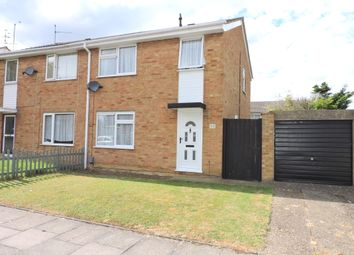 Thumbnail 3 bedroom semi-detached house for sale in Bembridge Gardens, Luton