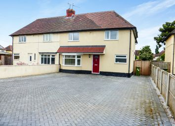 Thumbnail 4 bed semi-detached house for sale in Lincoln Road, Newark