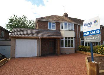 Thumbnail Semi-detached house for sale in Meriden Avenue, Wollaston, Stourbridge