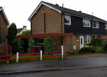 Thumbnail 3 bed semi-detached house for sale in Lincoln Close, Tibshelf, Alfreton