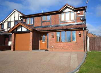 Thumbnail 4 bed detached house for sale in Burland Road, Newcastle-Under-Lyme