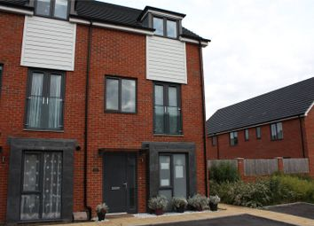 Thumbnail 4 bedroom end terrace house for sale in Alexander Turner Close, Reading, Berkshire