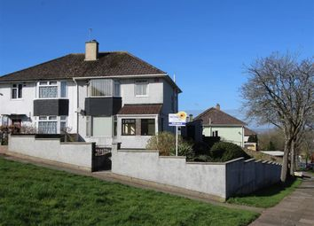 Thumbnail 3 bed semi-detached house for sale in Biggin Hill, Plymouth, Devon