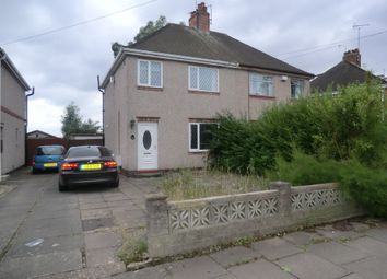 Thumbnail 3 bedroom semi-detached house to rent in Charter Avenue, Coventry