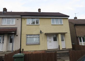 Thumbnail 3 bed end terrace house for sale in Gainsborough Road, Corby