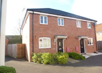 Thumbnail 3 bedroom semi-detached house for sale in Swallows Close, Hollesley, Woodbridge