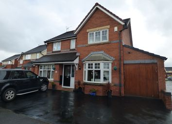 Thumbnail 4 bed detached house to rent in Huskisson Way, Newton-Le-Willows