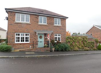 Thumbnail 3 bed detached house for sale in Newman Drive, Church Gresley
