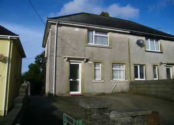 Thumbnail 2 bed semi-detached house for sale in Priory Road, Milford Haven