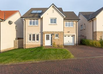 Thumbnail 4 bed detached house for sale in North Platt Gardens, Ratho, Edinburgh